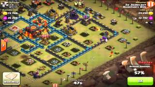 "Clash of Clans - $100 Free Gems - Quantum's Web ""CLAN WARS"" 97-15 - Destroyed Clan! EPIC"