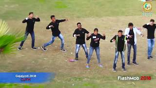 Chalu chalu paina paina kopaleee performance by Siddhu & Group Flash Mob CUTM