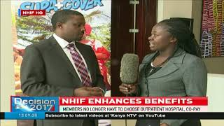 NHIF enhances benefits as it expands outpatient access for members