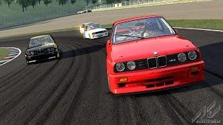 Assetto Corsa - На BMW M3 E30 трасса Mugello