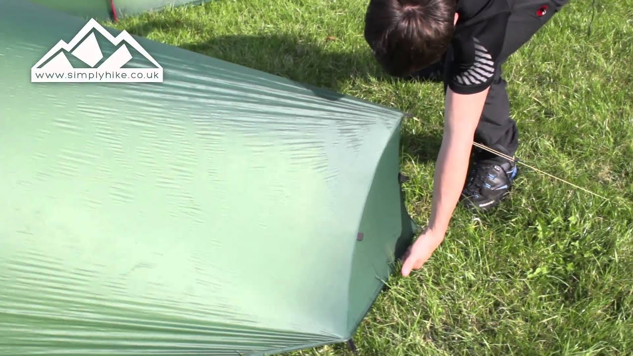& Terra Nova Laser Photon 1 Tent - www.simplyhike.co.uk - YouTube