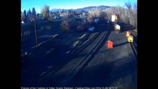 11/05/2018 The 487 return light locomotive to Chama after taking a train to Cumbres Pass