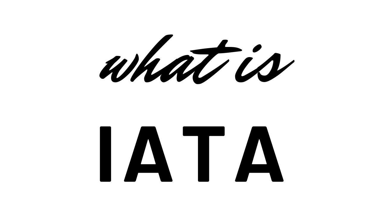 What is IATA - Explained | IATA क्या है?
