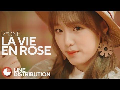 • IZ*ONE • La Vie en Rose • Line Distribution • 아이즈원 • 라비앙로즈 •