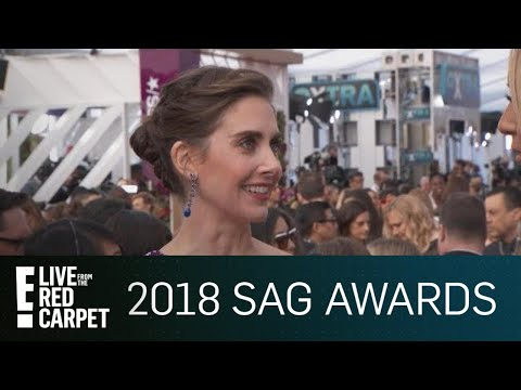 Alison Brie Addresses James Franco Allegations at SAG Awards  E! Live from the Red Carpet