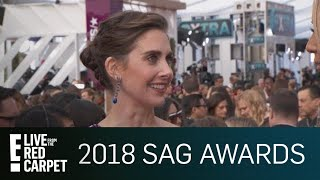 Alison Brie Addresses James Franco Allegations at SAG Awards | E! Red Carpet & Live Events