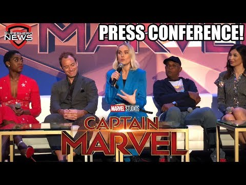 Marvel Studios' Captain Marvel - Full Press Conference