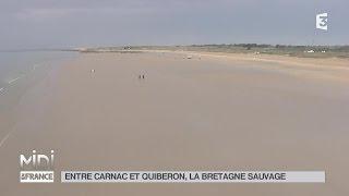 SUIVEZ LE GUIDE : Entre Carnac et Quiberon, la Bretagne sauvage