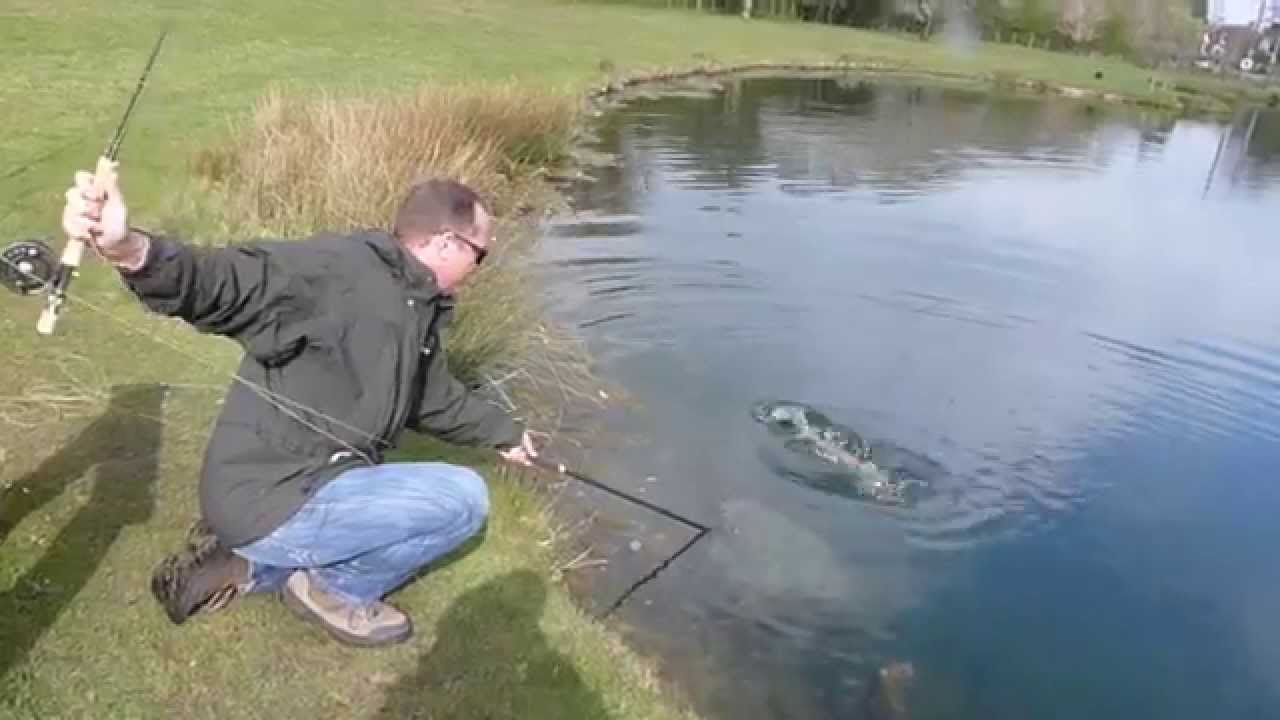 Monster rainbow trout fishing youtube for Youtube trout fishing
