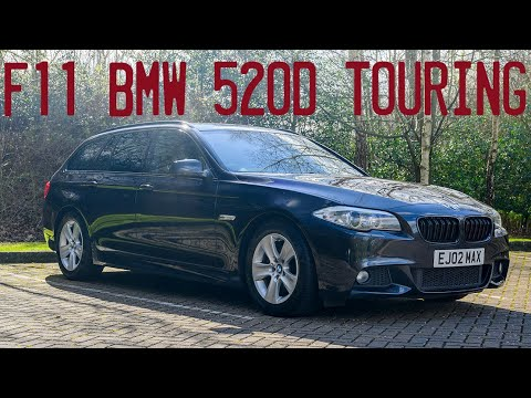 2012 F11 BMW 520D Touring M Sport Goes For A Drive - Modern Mondays