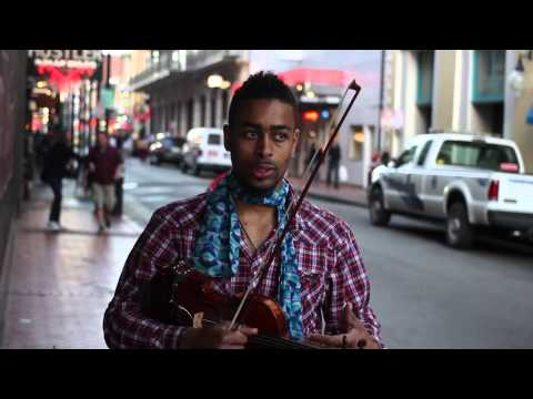 Traveling Violinist Contributes to New Orleans Music Culture