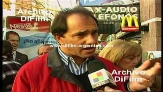 DiFilm - Daniel Scioli - Privatizaciones convertibilidad (1997)