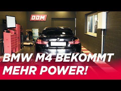 500ps nur mit Software? BMW M4 Leistungskur für die Software - BBM Motorsport Prüfstand