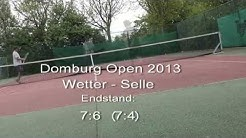 Tennis Domburg Open 2013 - Boris Wetter Vs John McSelle