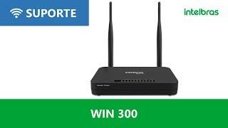 Configuração em modo repetidor wireless WIN 300 - i3207