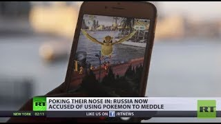 Et tu, Pikachu? CNN claims Russia used Pokemon Go to meddle in US election