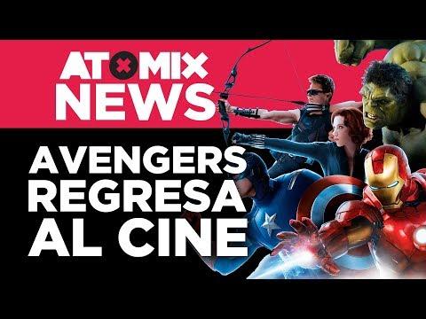 Avengers: Endgame regresa a cines – #AtomixNews [19/06/19]