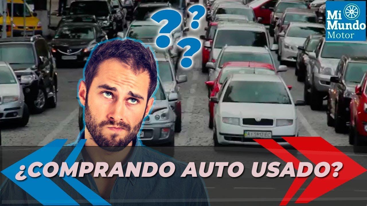 Recomendaciones para comprar un auto usado