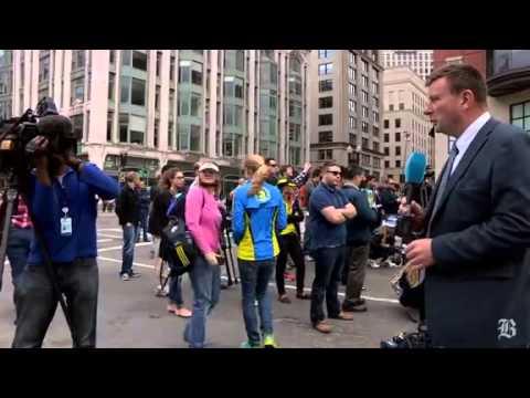 Atentado en Boston, en siete minutos de video (The Boston Globe)