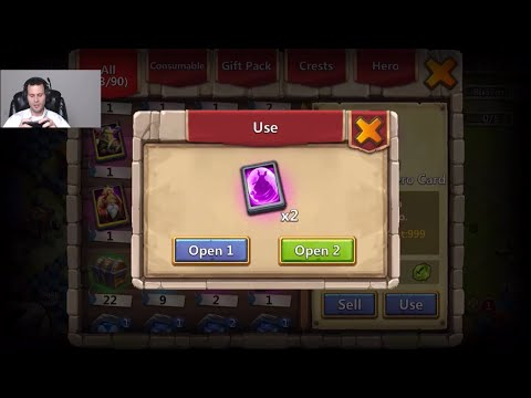 $1000 And NO Pumpkin DUKE CURSED Account Rolling 28000 Gems Heroes Castle Clash