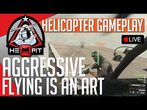 BF4 Aggressive Little Bird Gameplay (87 kills, stunts & roadkills) LIVE STREAM
