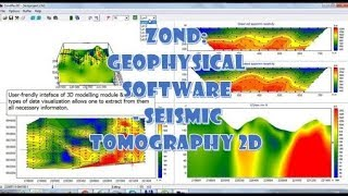 Zond: Geophysical Software - Seismic Tomography 2D