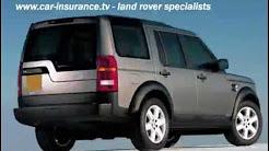 Compare Land Rover Insurance