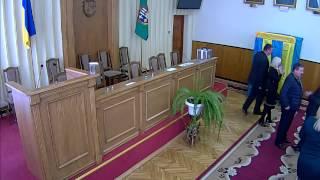 Сесія Глибоцької районної ради від 19.11.2015