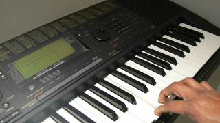 How to Play Crazy Feeling - Nenu Sailaja Piano Keyboard - Telugu