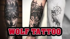 Top Beautiful Wolf tattoo designs for Men - Inspirational Wolf ideas for Men and Women