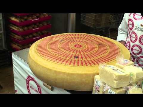 HUGE Swiss Emmentaler Cheese