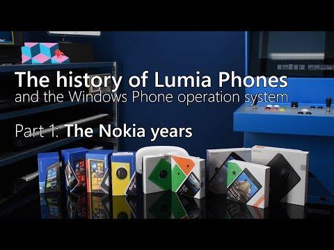 History Of Nokia Lumia Phones / Windows Phone Os,  Part 1:  The Nokia Years