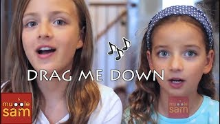 Drag Me Down - One Direction | 10-year-old Bella and 12-year-old Sophia Mugglesam Kids