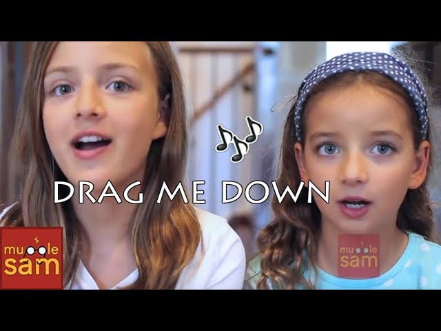 Drag Me Down - One Direction | 10-year-old Bella and 12-year-old Sophia