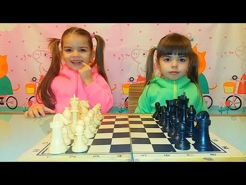 ШАХМАТНЫЕ ФИГУРЫ. Как Играть в Шахматы. Видео для Детей. Сhess for children.