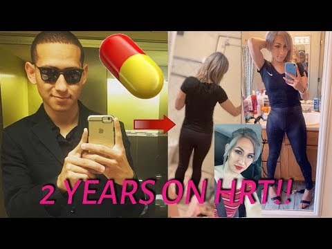 2 Years On HRT!! (MTF Transition) Charolette Saiz