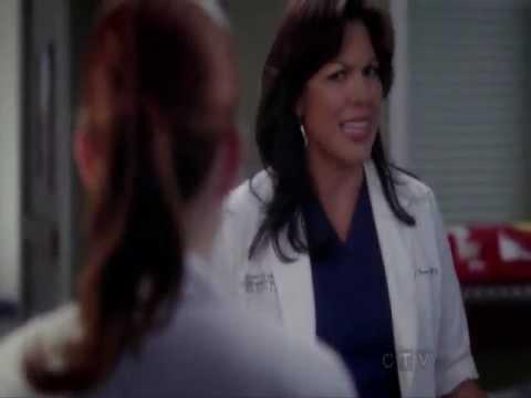 Grey's anatomy 8x24 - All Callie scenes - YouTube