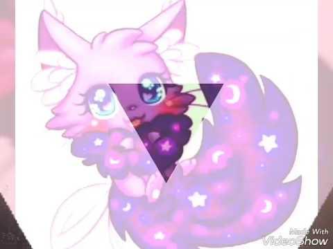 Картинки аниме магические животные.