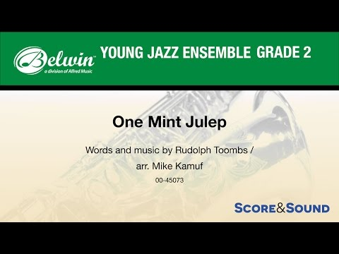 One Mint Julep arr. Mike Kamuf - Score & Sound mp3