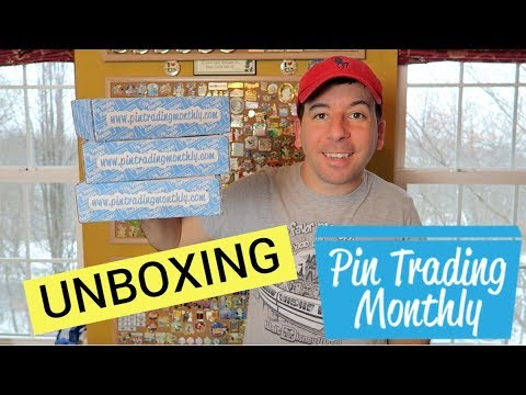 DISNEY SUBSCRIPTION BOX  Pin Trading Monthly