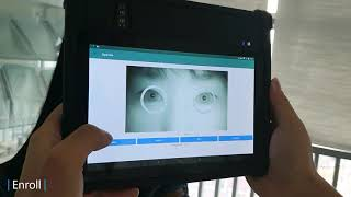 EKEMP  Multi-modal biometric Tablet functional Demo