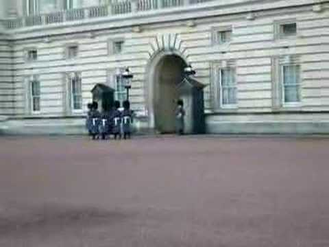 They're Changing Guards At Buckingham Palace