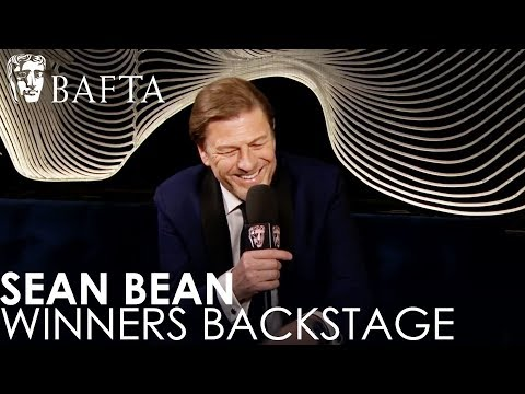 Sean Bean Reacts To His BAFTA Win For Leading Actor | BAFTA TV Awards 2018