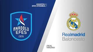 #EuroLeague 4. Hafta: Anadolu Efes - Real Madrid
