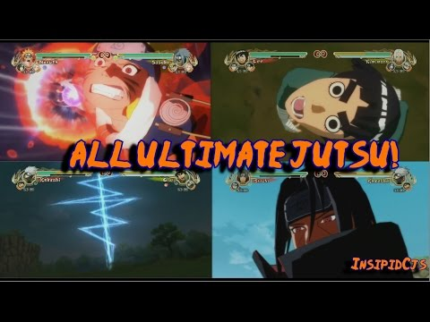 Naruto Ultimate Ninja Storm: All Ultimate Jutsu HD (English)