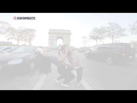 Saif Da Projects - Kizombo @ Arc de Triomphe, Paris France  // filmed by @studioplaceofficial