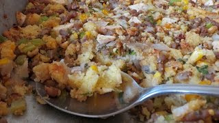 Cornbread Stuffing -- The Frugal Chef