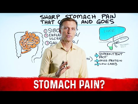 Sharp Stomach Pain That Comes and Goes