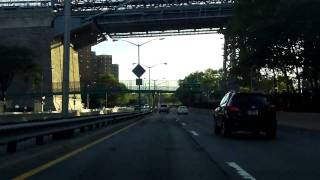 FDR Drive (Exits 1 to 10) northbound