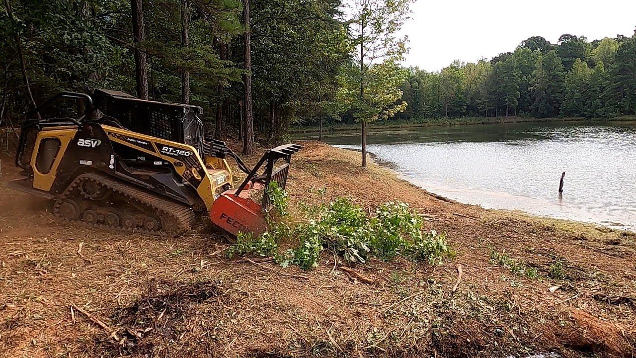 Finish Cleaning Around Ponds